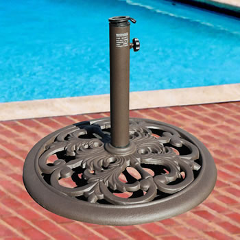 030TSCB 30 lb. Cast Iron Umbrella Base