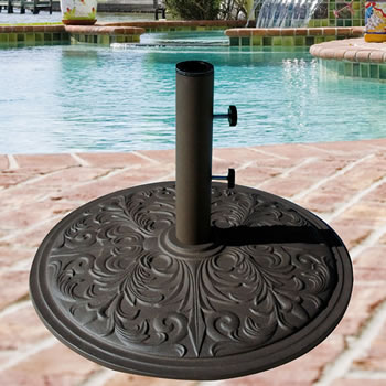 050TSCB 50 lb. Cast Iron Umbrella Base