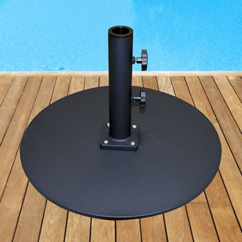 050TSRD 50 lb. Steel Plate Umbrella Base
